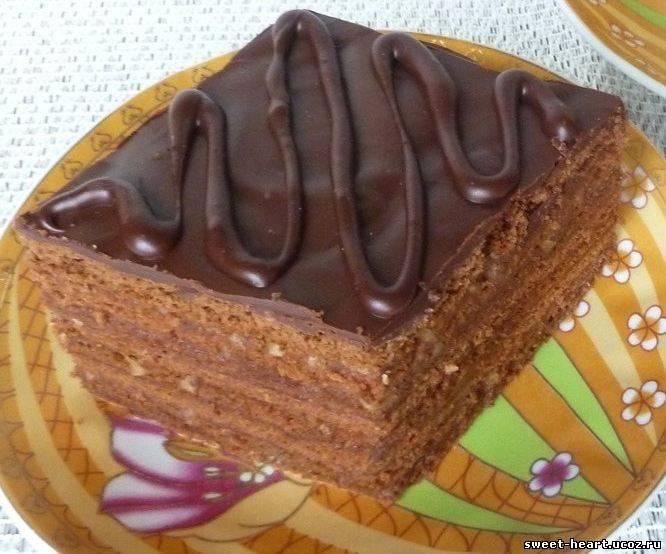 медовое пирожное рецепт с фото